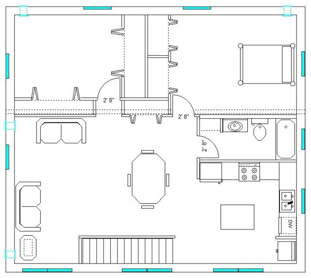 Upstairs Apartment Plan