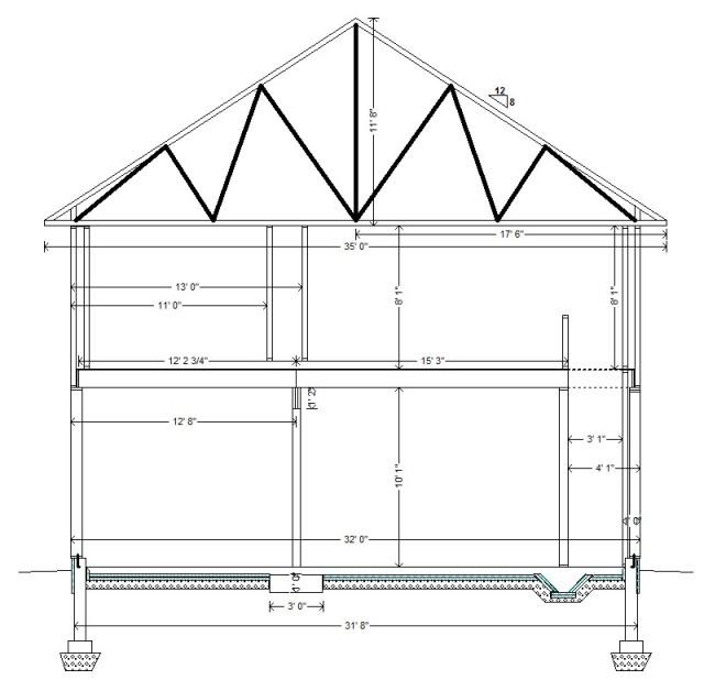 N-S Cross-Section