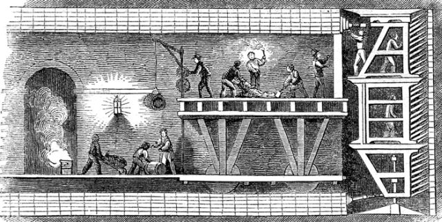 Brunel Tunnel Shield