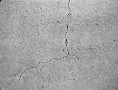 Drying Shrinkage Cracks