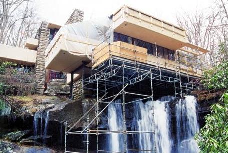 Fallingwater Repair 2001