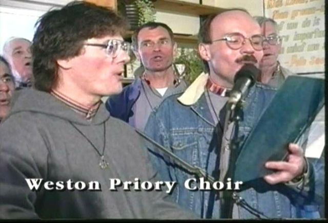 World-Famous Weston Priory Brothers Join Protest