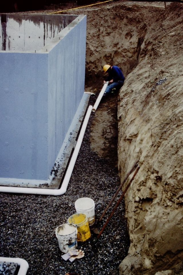 Exterior Waterproofing and Drainage