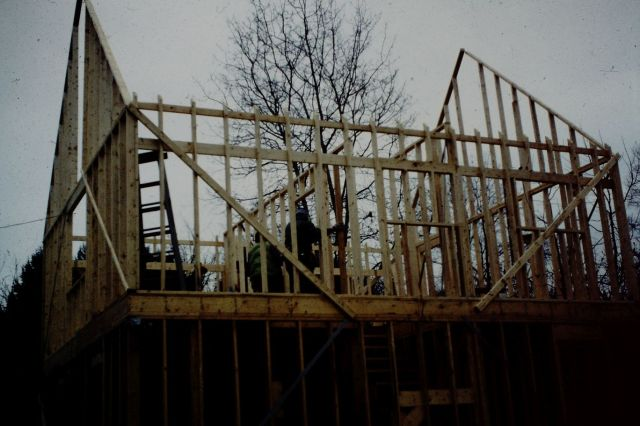 Second Storey Balloon Framing