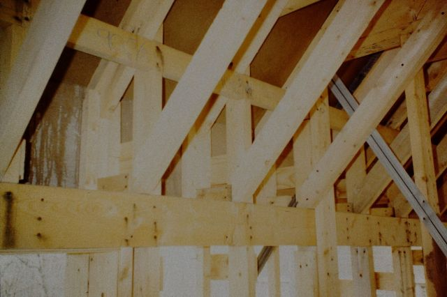 Let-In Ledgers for Ceiling/Roof Framing